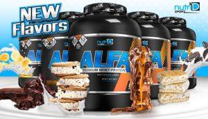 אלפא ALFA - אבקת החלבון